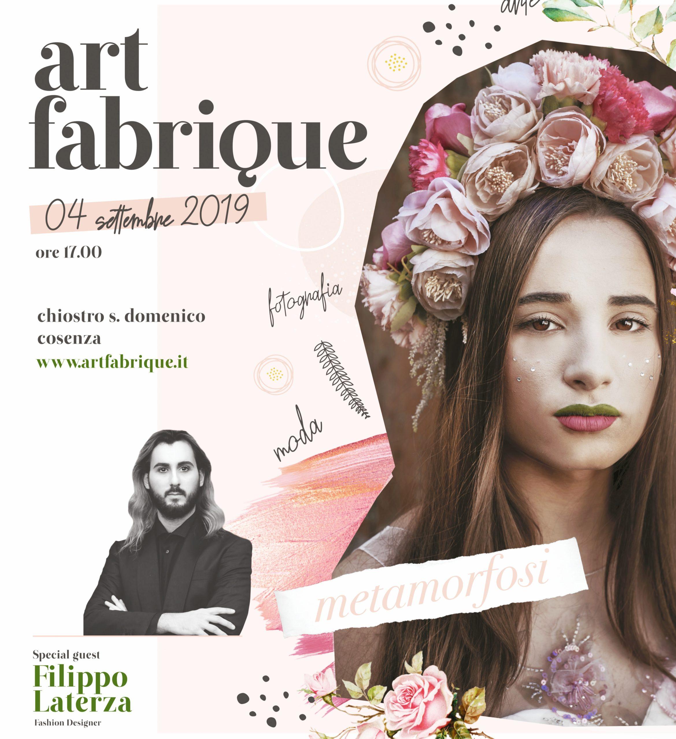 A Cosenza la 3ª edizione di Art Fabrique – Metamorfosi