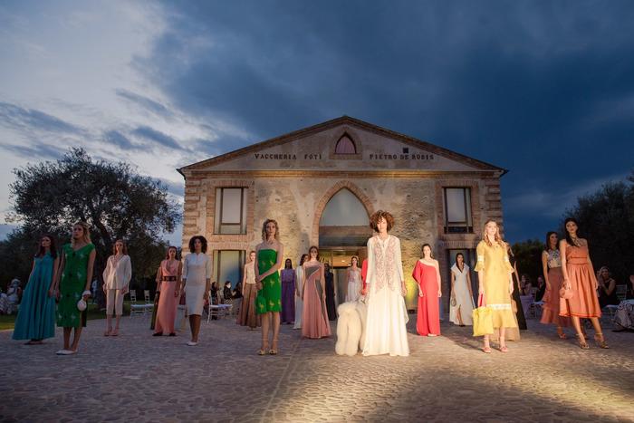 La Calabria palcoscenico della Maison Celestino
