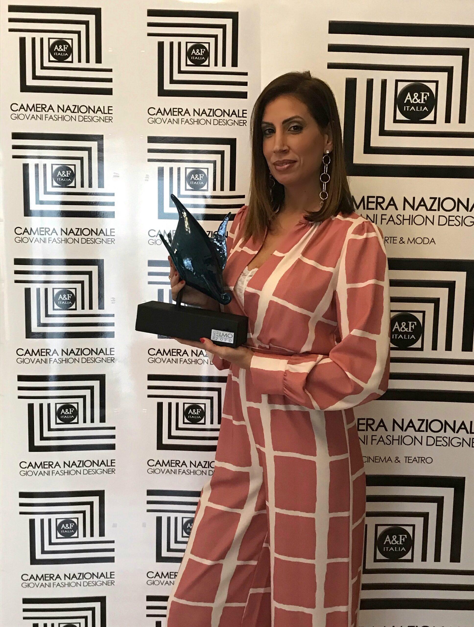 La presidente Alessandra Giulivo riceve il premio Elmo 2020