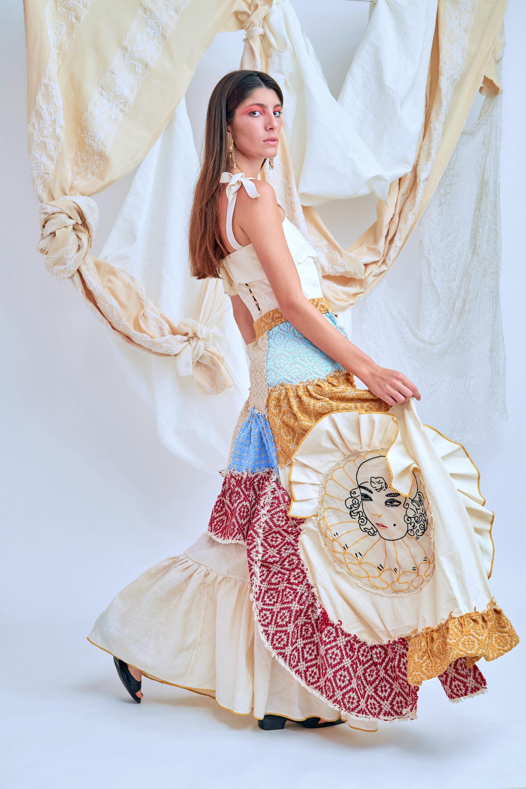 #artfabriquetalent Ilenia Sapia e l'omaggio alle donne del sud